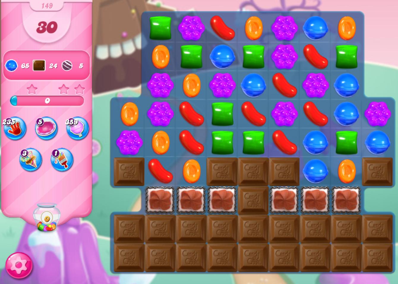 Level 149 Candy Crush Saga Wiki Fandom Powered By Wikia
