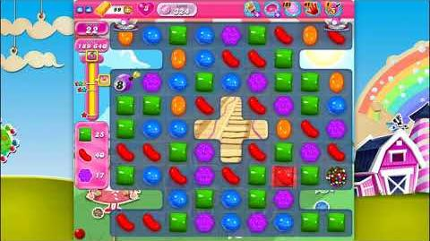 Candy Crush Saga - Level 324 - No boosters ☆☆☆