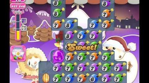 Candy Crush Saga Level 1394 (No booster, 3 Stars)