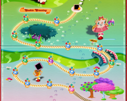 Cookie Crossing Map