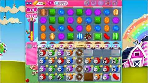 Candy Crush Saga - Level 334 - No boosters ☆☆☆