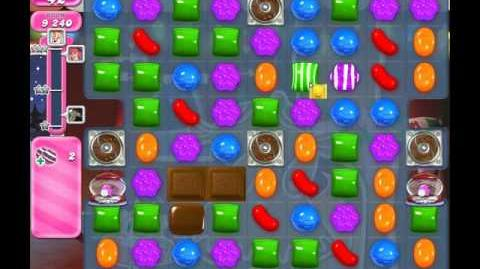 Candy Crush Saga Level 266 ( New with 3 Striped + Striped Candies Order ) No Boosters 2 Stars