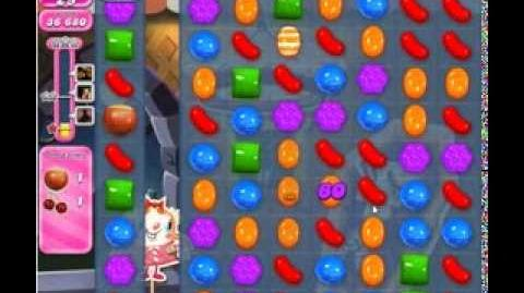 Candy Crush Saga Level 221 newest edition 2 stars NO BOOSTERS