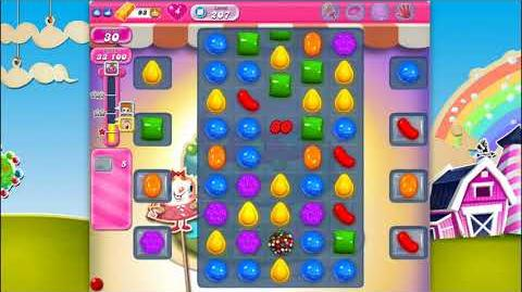 Candy Crush Saga - Level 207 - No boosters ☆☆☆ Top Score