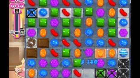 Candy Crush Saga Level 526 (nerfed, 3 Stars)
