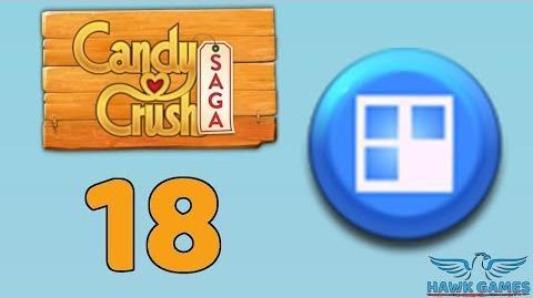 Candy Crush Saga 🎪 Level 18 (Jelly level) - 3 Stars Walkthrough, No Boosters-1537019983