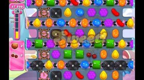 Candy Crush Saga Level 1528 ( New with 25 Moves and 6 Ingredients ) No Boosters 3 Stars