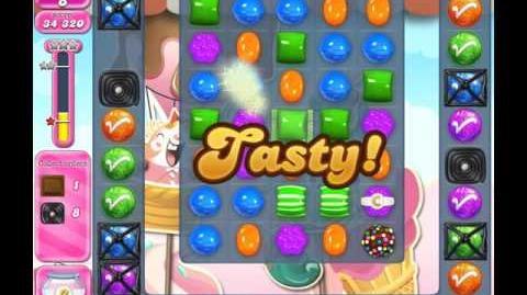 Candy Crush Saga Level 1611 (No booster)