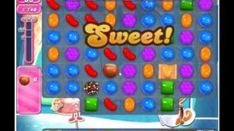 Candy Crush Saga Level 509 3 stars NO BOOSTERS