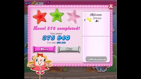 Candy Crush Saga Level 575 ★★ NO BOOSTER
