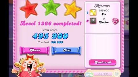 Candy Crush Saga Level 1266 ★★★ NO BOOSTER