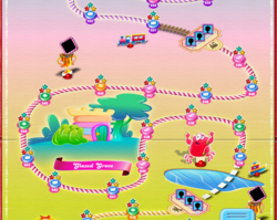 Glazed Grove Map