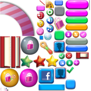 Mobile - Candy Crush Saga - Icons 2