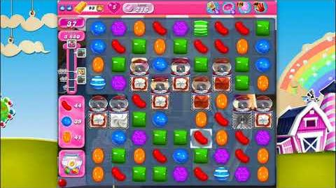 Candy Crush Saga - Level 216 - No boosters ☆☆☆