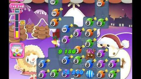 Candy Crush Saga Level 1394 ( New with 10 Moves Candy Bombs ) No Boosters 2 Stars