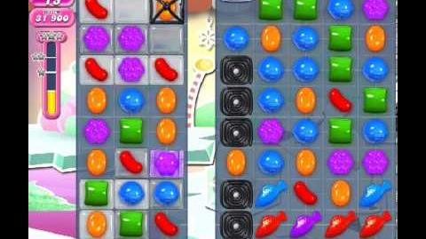 Candy Crush Saga Level 250 - 3 Star - no boosters
