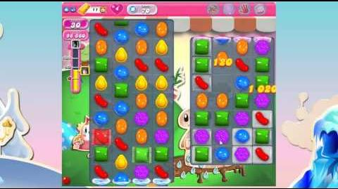 Candy Crush Saga Level 70 No Boosters