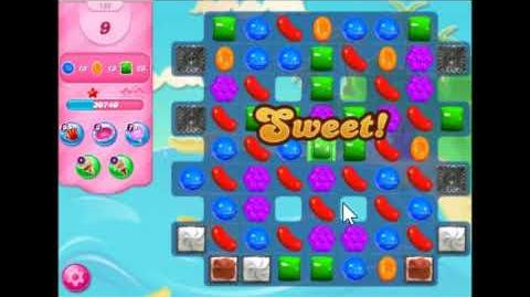 Candy Crush Saga Level 132 Walkthrough No Booster,New Version
