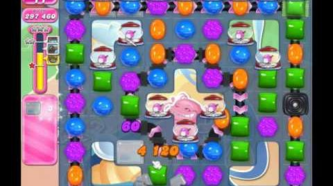 Candy Crush Saga Level 1607 ( New with 25 Moves and 4 Candy Colours ) No Boosters 1 Stars