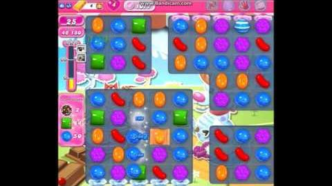 Candy Crush Saga Level 1077 ★★ with Lucky Candy - 137,060 pts (Buffed version)