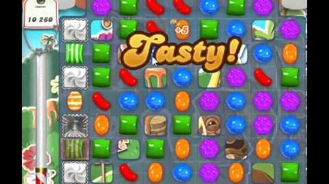 Candy Crush Saga Level 198 - 1 Star - no boosters