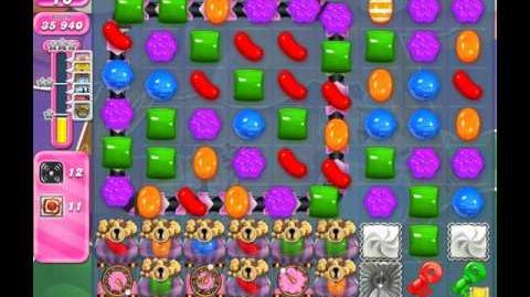 Candy Crush Saga Level 1747 ( New with 56 Icings and 12 Swirls Orders ) No Boosters 2 Stars