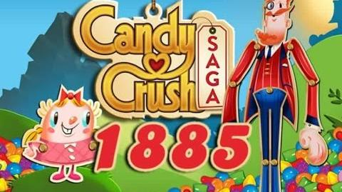 Candy Crush Saga Level 1885