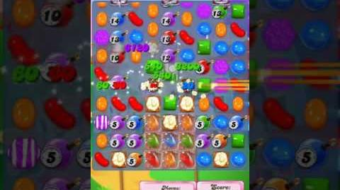Candy Crush Level 1947 (4th version, 2,000,000 points target)