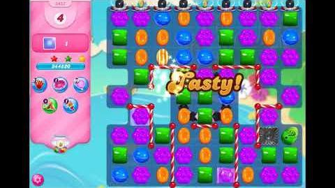Candy Crush Saga - Level 3457 - No boosters ☆☆☆
