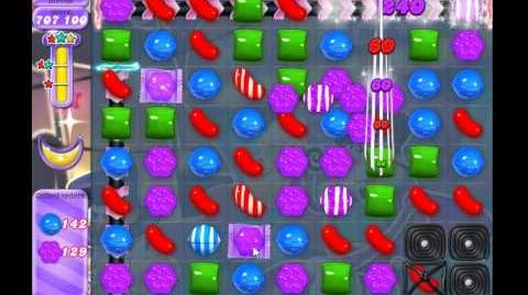 Candy Crush Saga Dreamworld Level 555 (No booster, 3 Stars)