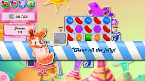 Candy Crush Saga Level 2496