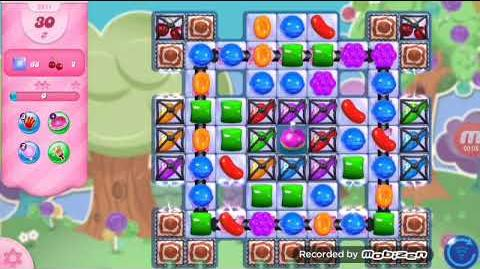 Candy Crush Saga Level 2811 No Boosters (on mobile)