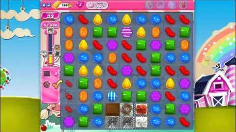 Candy Crush Saga - Level 347 - No boosters ☆☆☆