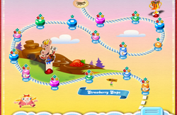 Strawberry Steps Map