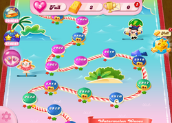 Watermelon Waves HTML5 Map