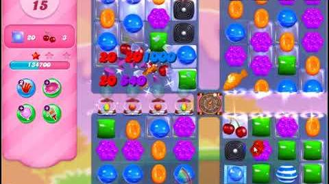 Video candy crush friends group level 2863 using jelly for Candy crush fish