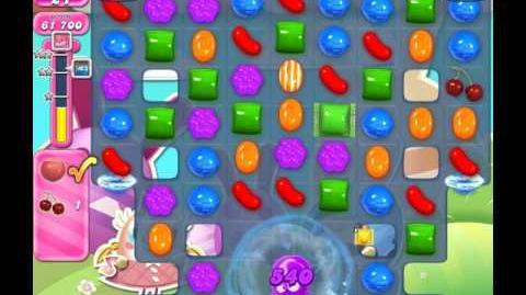 Candy Crush Saga Level 1587 ( New with 1 Hazelnut and 2 Cherries ) No Boosters 3 Stars
