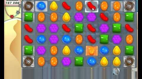 Candy Crush Saga Level 167 NEW NEU - No Boosts )