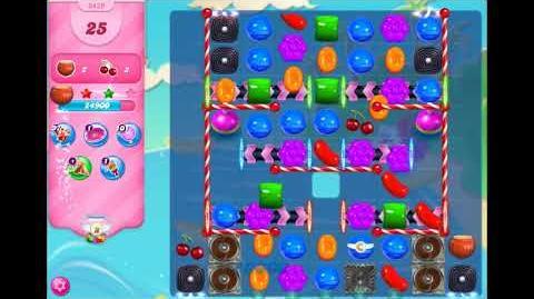Candy Crush Saga - Level 3459 - No boosters ☆☆☆