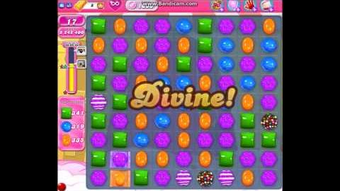 Candy Crush Saga Level 1000 ★★★ 3 STARS! No Boosters Used - 3,638,600 pts (Collect 3,000 candies)