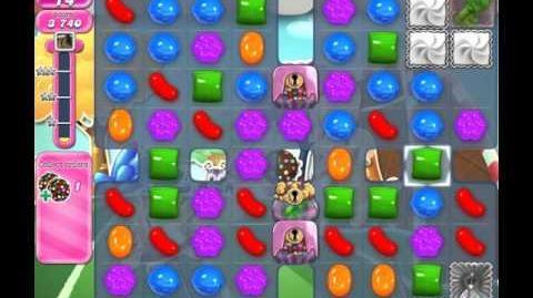 Candy Crush Saga Level 1435 (No booster, 3 Stars)