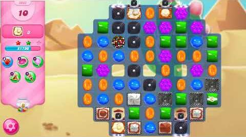 Candy Crush Saga Level 3032 NO BOOSTERS (18 moves)