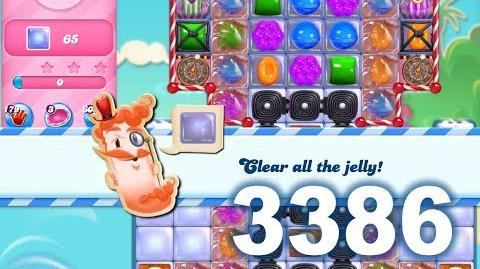 Candy Crush Saga Level 3386 (3 stars, No boosters)