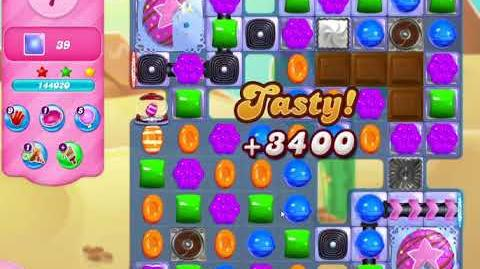 Candy Crush Saga Level 3024 NO BOOSTERS (18 moves)