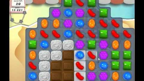 Candy Crush Saga Level 163 - 1 Star - no boosters