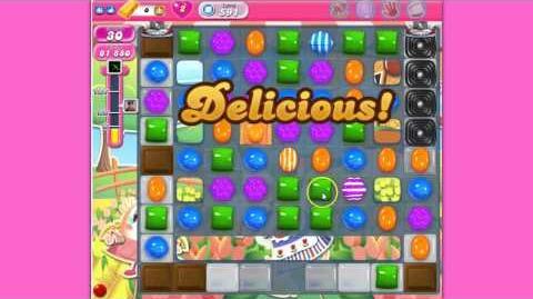 Candy Crush Saga level 591