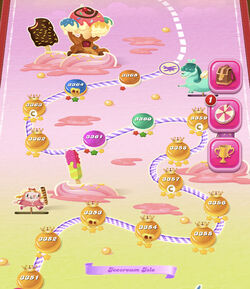 Icecream Isle HTML5 Map
