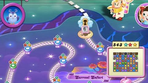 Candy Crush Saga Dreamworld Level 543 (★★★ no booster)