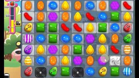 Candy Crush Saga LEVEL 1370 new (20 moves)