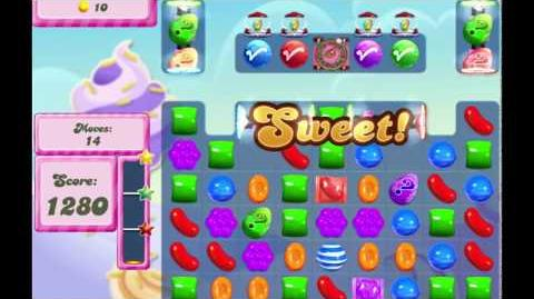 Candy Crush Saga Level 2775 NO BOOSTERS (16 moves)